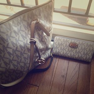 Three used Authentic Micheal Kors Bags